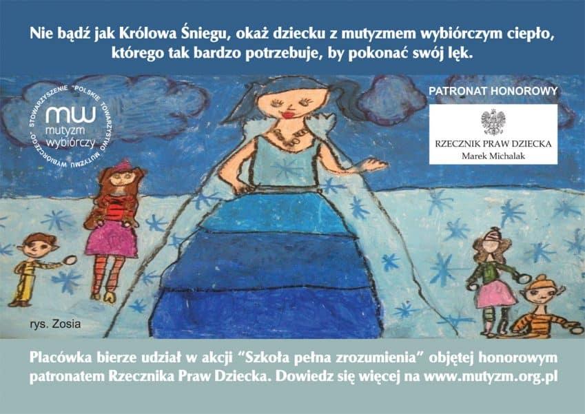 Znalezione obrazy dla zapytania mutyzm wybiórczy przedszkole bierze udział w akcji